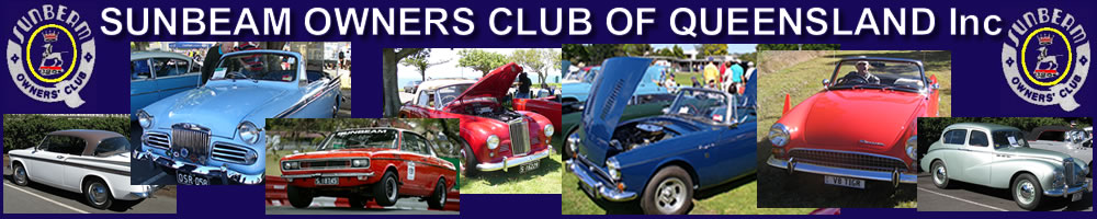 Qld Sunbeam Owners Car Club